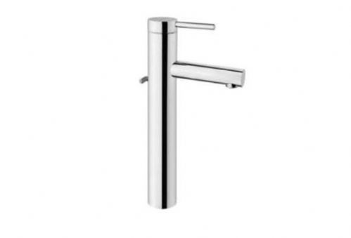 Vitra Pure Tall Basin Monobloc Mixer Tap - Chrome With Optional Waste